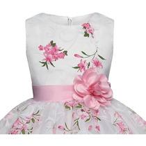 35ad8a9bb73c Vestido Corto Bebe Niña Fiesta,presentacion Moño Princesa en venta ...