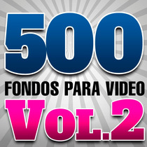 Vol 2 Fondos Para Video Motion Backgrounds Full Hd +regalo