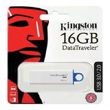 Memoria Usb 16gb Datatraveler Kingston Dtig4 3.0 Nueva