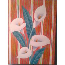 Pintura Al Acrílico, Alcatraces, Envío Gratis