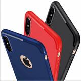 Funda Ultra Slim Silicon iPhone 6 7 8   Plus X Xr Xs Max