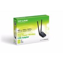 Usb Tp-link Wifi 300mbps Rompemuros Tl-wn8200nd 2 Antenas