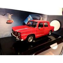 1968 Renault R8 Gordini Rouge Escala 1/18