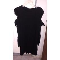bed6b79fc4 Vestido Negro Ajustado Con Volantes Y Hombros Bershka en venta en ...