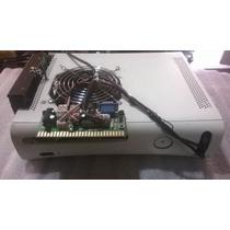 Xbox 360 Fat 500gb Maquinita Kit + 2 Controles + 2 Bases