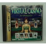 Virtual Casino Sega Saturn Japones