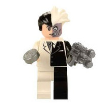 Fig Sw18 Two Faces Doble Cara De Batman Compatible Con Lego