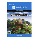 Minecraft Windows 10 Codigo Original Juego Completo