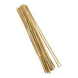 15 Varas De Bambú / Tutores Manualidades Jardinería 100 Cm A