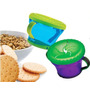 2 Contenedores Nuby Snack Keeper Para Cereal O Galletas