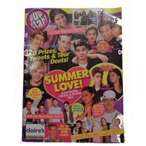One Direction Revista 8 Posters, Selena Trivias, Padrisima!!