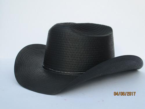 50 Sombrero Texano Negro Adulto Carton Fiesta Boda Batucada 6c340326736