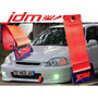Tow Hook Jdm Tiron Nissan Honda Civic Si Lips Header Turbo