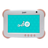 Tablet Ghia Kids 1gb 8gb Android Contra Golpes And 8.1 Rosa