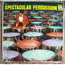 Jazz Latino, Spectacular Percussion, Lp 12´,hecho En Usa.lbf