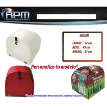 Caja Para Moto Reparto Mod Milan - Cajas Para Motos