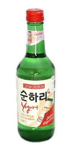 Alcohol Coreano Soju Chum Churum Yogurt 1 Pza 360 Ml