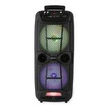 Bocina Select Sound Iron Bt1708 Portátil Con Bluetooth Negra