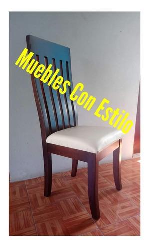 Silla Para Comedor En Madera De Cedro en venta en Amatlan De ...