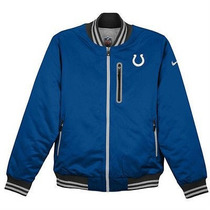Nfl Indianapolis Colts Nike Chamarra Reversible Termica