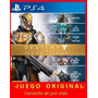 Destiny The Collection Ps4 Juga Con Tu Usuario Entrego Ya