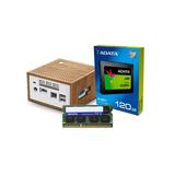Computadora Pc Mini Intel Dual Core Ssd 120gb Ram 4gb Hdm /v