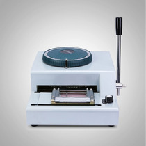 Máquina De Estampación De Tarjetas Pvc - Membresias