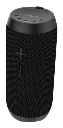 Bocina Tedge Bluetooth 10w Portátil Con Bluetooth Negra
