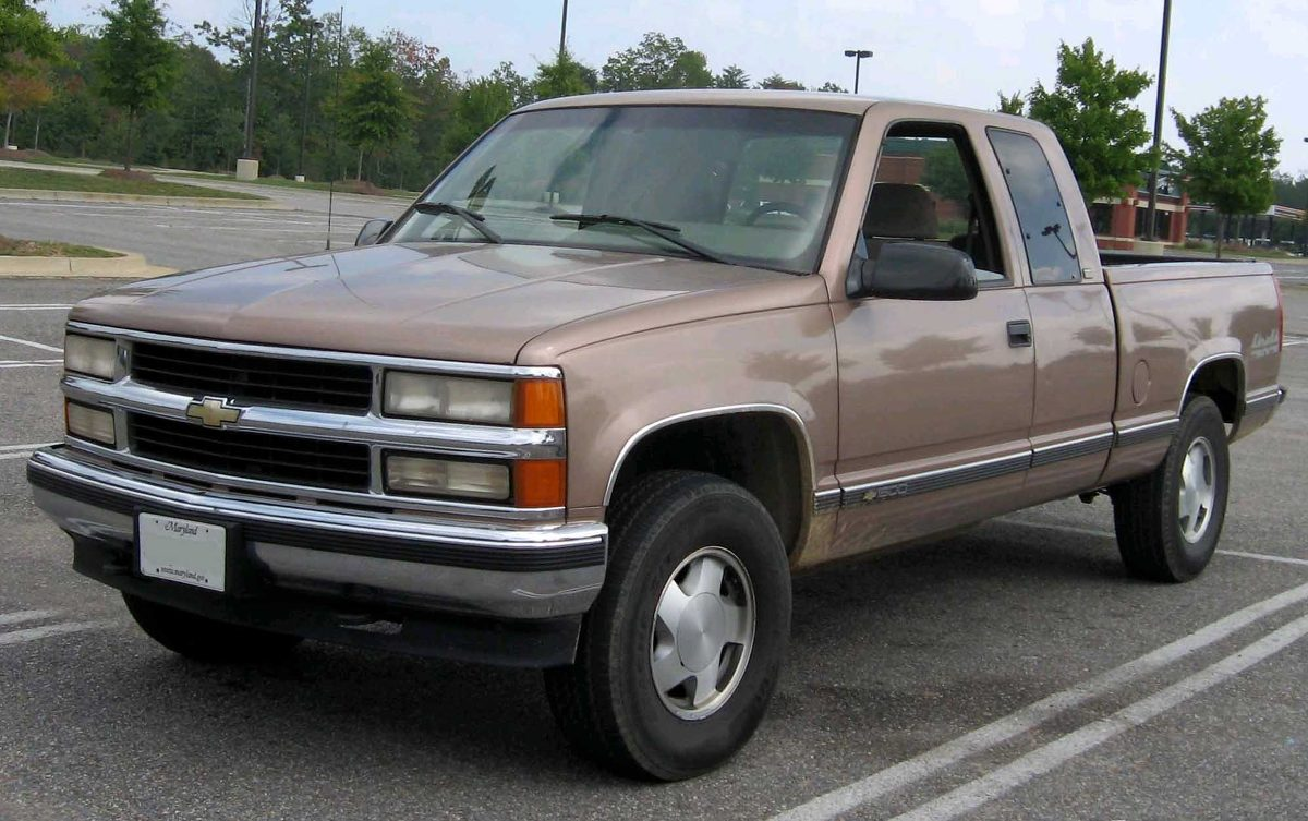 2016 pickup with a sliding door