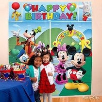 Poster Decoracion Fiesta Minnie Mouse Mickey Mouse