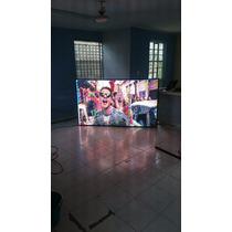 Pantalla Video Led Gigante P10 P5 Gabinete Exterior Acero