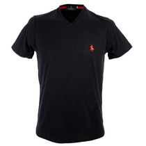 Playera Polo Club, Cuello V