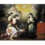 Lienzo Tela La Anunciación Murillo 1648 Arte Barroco