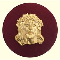 Cuadro Religioso 3.- Imagen De Cristo Con Baño De Oro 24k