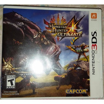 Monster Hunter 4 Ultimate 3ds - Nuevo Sellado