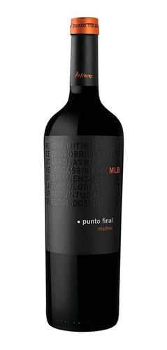 Vino Tinto Punto Final Clásico Malbec 750ml