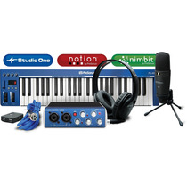Presonus Audiobox Music Creation Studio Paquete Completo Pro