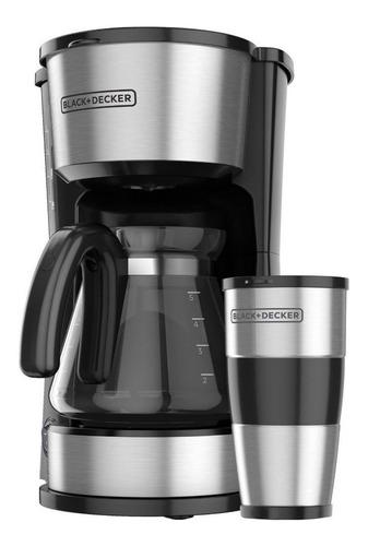 Cafetera Black+decker 4 En 1 Cm0755s Negra/acero Inoxidable 110v