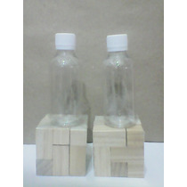 Botella Envase Pet 120 Ml Tapa Normal Transparente
