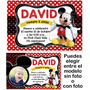 Invitaciones Kit Imprimible Mickey Mouse Disney Fiesta