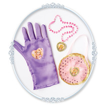 Rapunzel Traje - Bolsa Y Guante Set Purple Disney Princess
