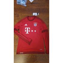 Jersey Adidas Bayern Munchen M Larga 15-16 Original C/num