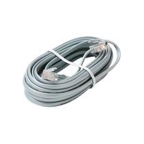 Cable Delgado Para Teléfono Fijo Con Conector A Roseta