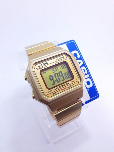 41e6721015d7 Reloj B650 Dorado Rosa Mate Negro Retro Clasico Envìo Gratis  489 ...