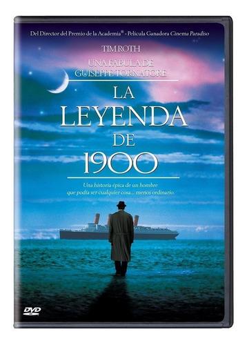 La Leyenda De 1900 Giuseppe Tornatore Pelicula Dvd