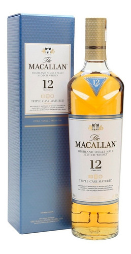 Whisky The Macallan 12 Años Triple Cask 700ml