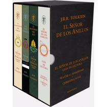 Paq. El Señor De Los Anillos - 60 Aniversario (4 Vol., P.d.)