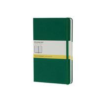 Libreta Cuaderno Grande Cuadriculada Verde Moleskine