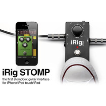 Irig Stomp Pedal Para Iphone Ipod Y Ipad, Guitarrista Musico