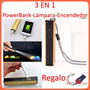Lampara Tactica Cree Q5, Power Bank, Encendedor Electronico!